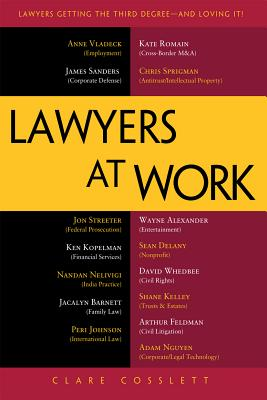 Lawyers at Work By Cosslett, Clare